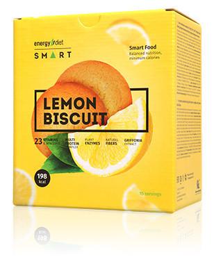 Заменитель питания Energy Diet Smart Лимонное печенье быстро похудеть без диет сбалансированное энерджи