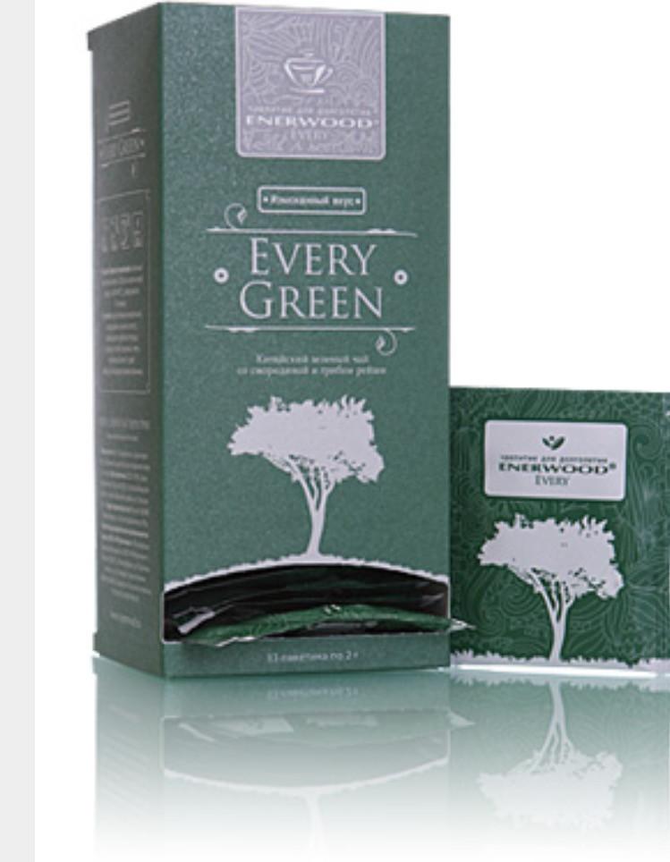 Every Green Mini Китайский зеленый чай со смородиной и грибом рейши