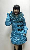 Пуховик Rachel Roy с мехом на воротнике, фото 1