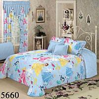 Комплект постельного белья подростковый детский Вилюта Принцессы 5660, фото 1