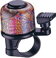 Звонок велосипедный NUVO NH-B405AP-T4 хомут 22.2 мм кольоровий (3211225555008)