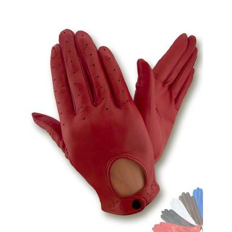 Авто перчатка женская из натуральной кожи без подкладки модель 274, фото 2