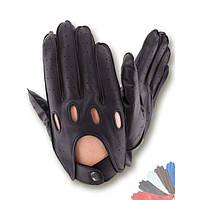 Авто перчатка из натуральной кожи без подкладки 275