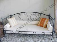 Кованый диван 1 ( без сидения и подушек)