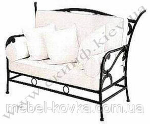 Кованый диван 2( только кованая часть )