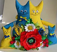 Коты-неразлучники в украинском стиле, фото 1