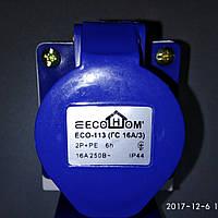 Розетка (гніздо) стаціонарна ECOНОМЕ ГС 16А/3  (ECO-113)