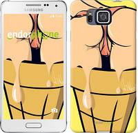 "Чехол на Samsung Galaxy Alpha G850F Мороженое ""787c-65-467"""