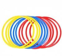 Кольца тренировочные (пластик, d-70см, в комплекте 12шт.)