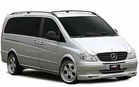 Защита заднего бампера Mercedes Vito W639
