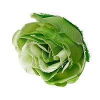 Предмет для декора, Флористики, Цветок, Роза, Зелёная, 4 cm x 3.3 cm - 3 cm x 2.5 cm