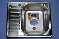Мойка кухонная 580*480*180 MIRA Premium правая сатин