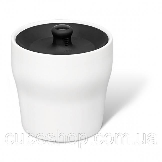 Баночка для хранения чая, кофе или специй Notin PO Selected (белый-черный)