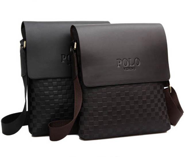 4a0f0c2e5312 Молодежная Кожаная мужская сумка ПОЛО. Сумки для мужчин. Модные сумки.  Бизнес сумки.