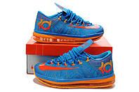 Баскетбольные кроссовки Nike KD 6 Elite blue-orange