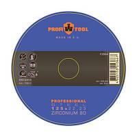 Круг шлифовальный лепестковый 125 x 22,23 мм PROFITOOL Professional ZIRCONIUM 80