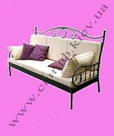 Кованый диван 9(подушки просчит.отдельно)