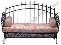Кованый диван 13(подушки просчитывать отдельно)