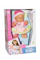 Кукла WZJ017-1 в розовом интер-ный с аксес.горшок кор.37*19*24 WZJ017-1