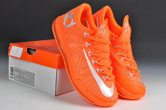 b4ce7b2f70eb Баскетбольные кроссовки Nike KD 6 Elite orange - Интернет магазин обуви  Shoes-Mania в Днепре