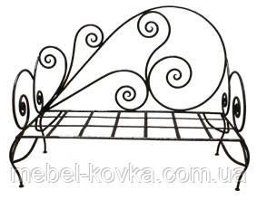 Кований диван 17
