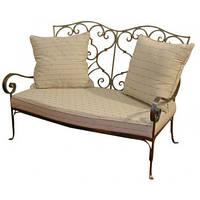 Кованый диван 18 ( подушки просчитывать отдельно)