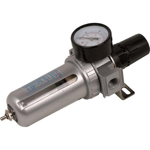 Фильтр воздушный с редуктором и манометром  1/2' Miol 81-422