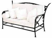 Кованый диван 7(подушки просчитывать отдельно)