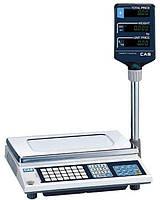 Весы торговые электронные со стойкой CAS AP15-M