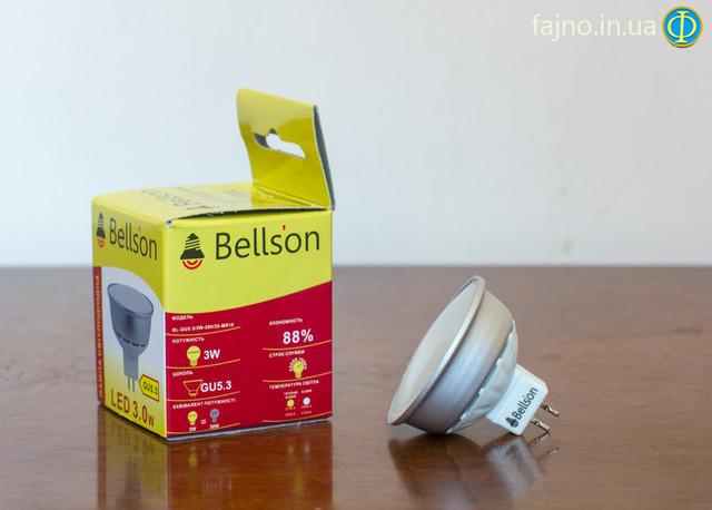 светодиодная лампочка GU5.3 на 5 Вт