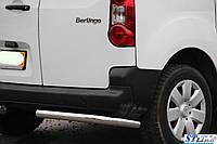Citroen Berlingo (08 + ) задняя защита углы