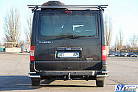 Ford Transit (06 - 15) задняя защита углы