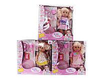 Кукла пьет и писает 30801B-B1-B11-B5-B8-  6 видов,  кушает с аксесс.,  в коробке