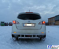 Nissan Murano Z51 (08-15) задняя защита