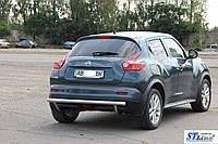 Nissan Juke (10-14) задняя защита