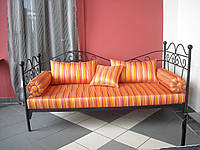 Кованый диван 35(мягкую часть просчитывать отдельно)