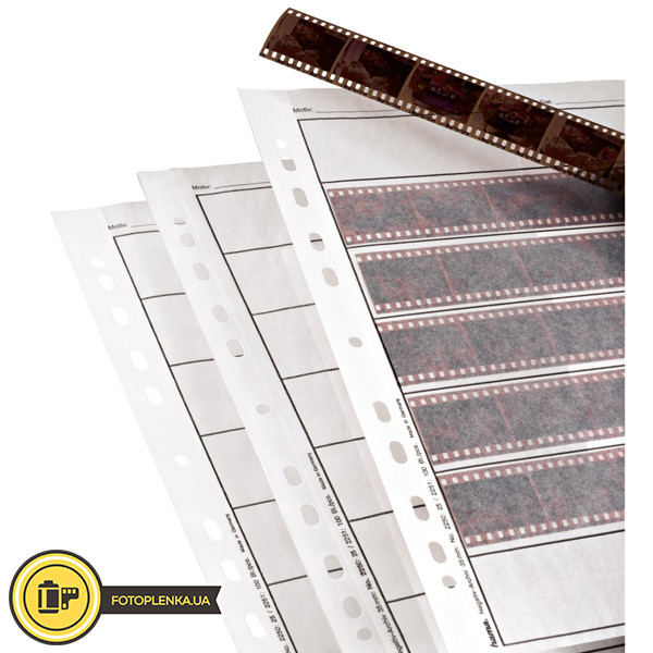 Файл-сливер пергамент для хранения фотопленок Hama тип 135