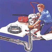 Прочистка каналізації електромеханічним методом, фото 1