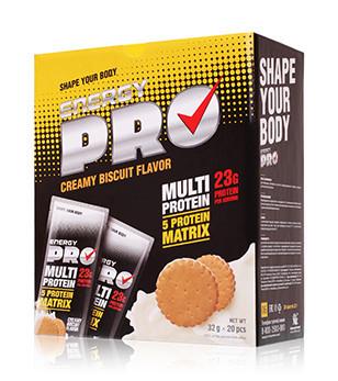 Мультипротеин Сливочное печенье energy pro