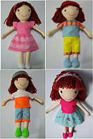 Кукла музыкальная 3086A 4вида, мама-папа-плач-лепет,  в пакете 42 см.