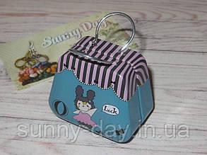 Коробочка для мелочей (игольница) - чемоданчик, принт №15