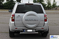 Suzuki Grand Vitara II (05-12) задняя защита 3-Д