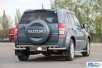 Suzuki Grand Vitara II (05-12) задняя защита
