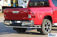 Toyota Hilux (15+) задняя защита