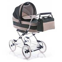 Детская коляска с люлькой Inglezina Sofia Comfort Eucalipto (chrome/blue)