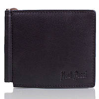 Зажим для купюр Paul Rossi Зажим для купюр мужской кожаный PAUL ROSSI (ПОЛ РОССИ) DNKC2-S-black