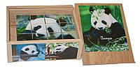 """Деревянные развивающие кубики """"Панды"""""""