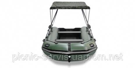 Тент на лодку ПВХ Барк ВТ-420S ВТ-450S