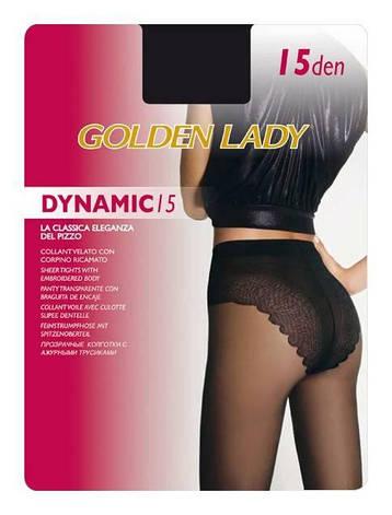 Колготки GOLDEN LADY DYNAMIC 15 3 (M), DAINO (легкий загар), 15, фото 2