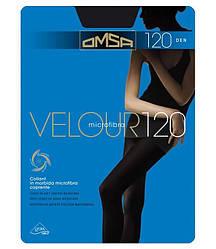Колготки Omsa velour 120 3 (M), NERO (черный), 120